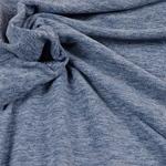 TINO leichter Fleece blau meliert