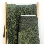 AZAR Effektjersey Ornamente olivgrün