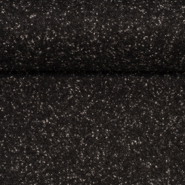 CAMILLA Tweed Salz&Pfeffer schwarz weiß