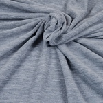 TINO leichter Fleece jeansblau meliert