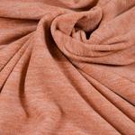 TINO leichter Fleece terrakotta meliert