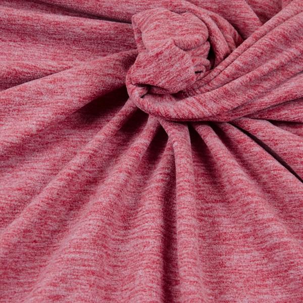 TINO leichter Fleece rot meliert