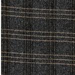 LORENZO Tweed Fischgrat Karo schwarz wei
