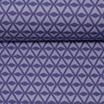 SQUARE by Lila Lotta Canvas hellblau