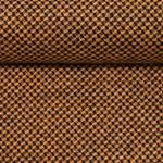 ALBERTO Tweed Minikaro karamell schwarz