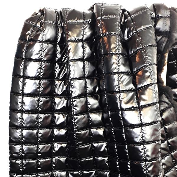 LUCANO Jackenstepper schwarz glänzend
