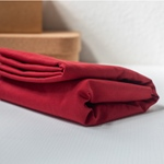 WASHED COTTON TWILL 9 oz ruby