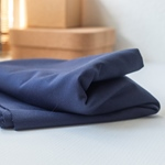 WASHED COTTON TWILL 9 oz navy