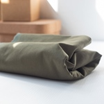 WASHED COTTON TWILL 9 oz khaki