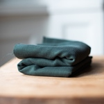TENCEL JACQUARD deep green