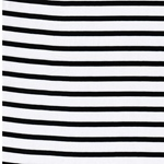 STRIPES Rayon weiß schwarz