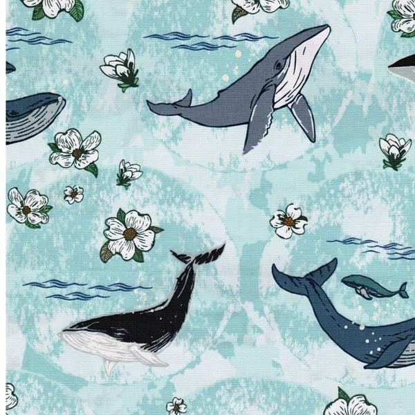 Underwater Enchant Solar Popeline Wale