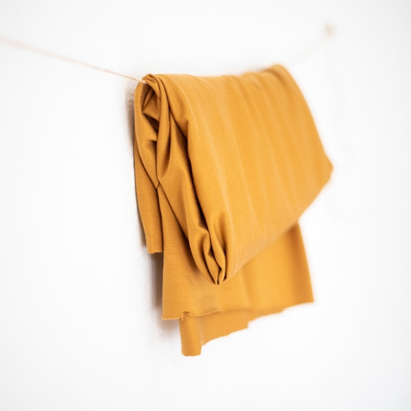 TENCEL STRETCH JERSEY mustard