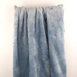 FLANELLE flauschiger Fleece hellblau