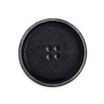 Steinnussknopf 30 mm 4-Loch schwarz