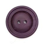 Polyesterknopf 28 mm 2-Loch Vintage lila