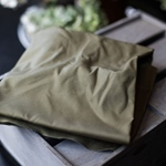 ORGANIC DRY WAX Canvas khaki