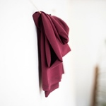 TENCEL STRETCH JERSEY maroon