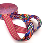 Gurtband Ethno 25 mm bunt