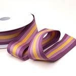 Gummiband Streifen 40 mm malve senf