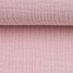 JENKE Double Gauze Musselin rosa