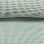 NELSON Waffelpique pastellmint