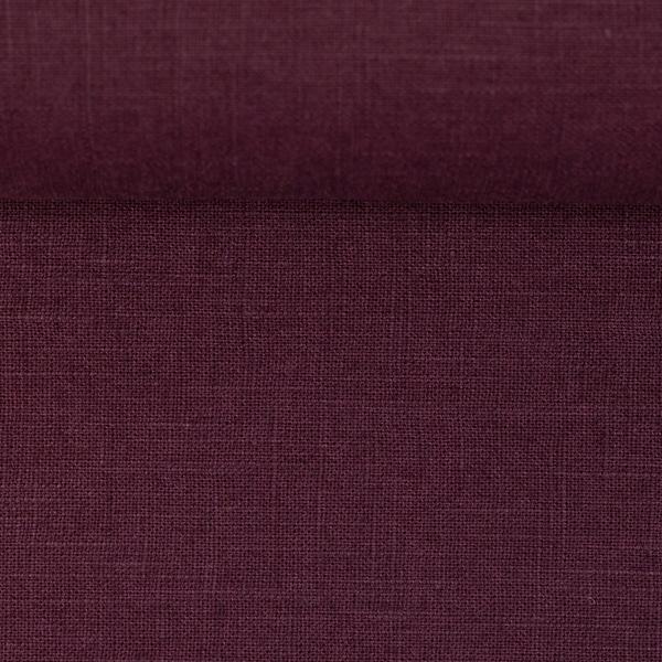 DAMIEL Leinen purpurviolett