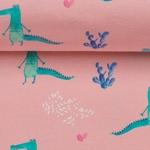 TOMMY fröhliche Krokodile rosa