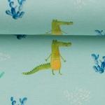 TOMMY fröhliche Krokodile mint