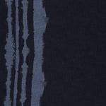 LEXI Viskose Spiegelbordüre blau schwarz