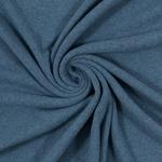 0,60 m Reststück BENE Feinstrick jeans