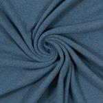 0,80 m Reststück BENE Feinstrick jeans