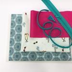Nähpaket Beautybag LENE Pusteblumen mint