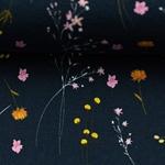JESSE Jersey Zweige dunkelblau gelb
