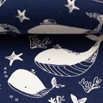 Vera Jersey Wale dunkelblau