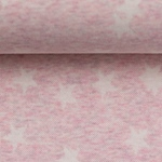 MADITA Jacquard-Jersey Sterne rosa