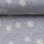 MADITA Jacquard-Jersey Sterne blau