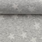 MADITA Jacquard-Jersey Sterne grau