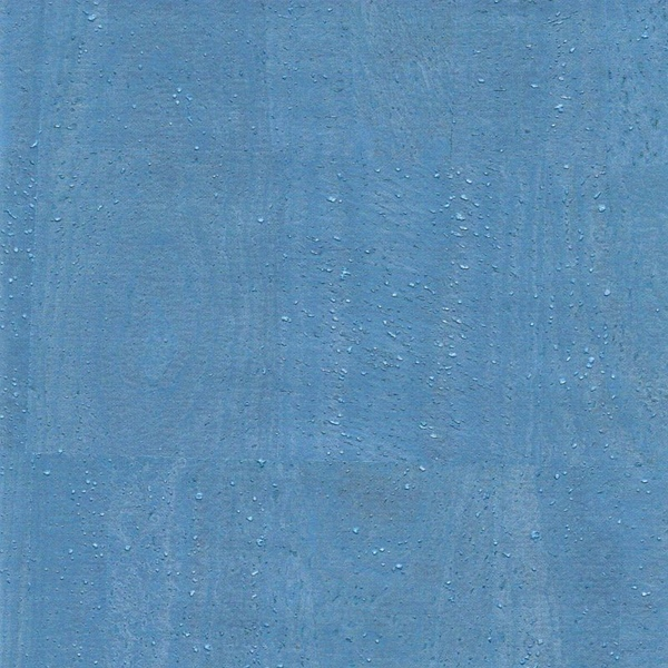 Korkstoff PEARL blau 34 x 49cm