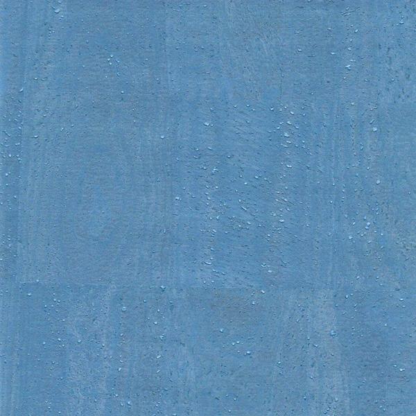 Korkstoff PEARL blau 24 x 34cm