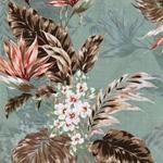 JONIS Webware Leinenoptik Blumen