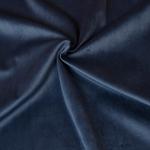 VELOURS-UNI Velours blau