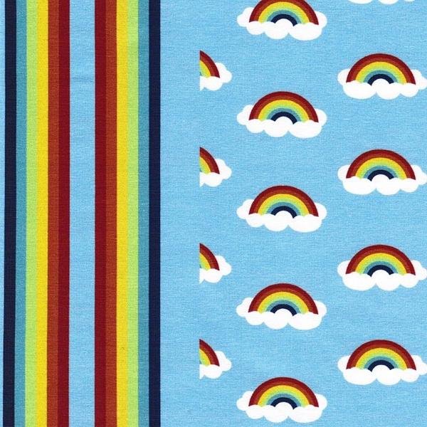 BIG DREAMS Jersey Regenbogen hellblau