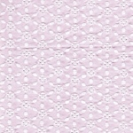 BAILA Popeline Lochstickerei rosa