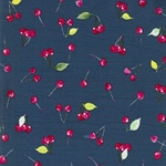 CHERRY PICKING Jersey Kirschen jeansblau
