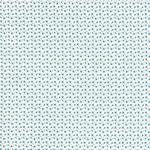 FLORENCIA Popeline ORGANIC Blümchen blau