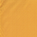COATED PETIT DOT Wachstuch Punkte gelb