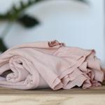 LYOCELL FINE RIB JERSEY powder pink