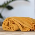 LYOCELL FINE RIB JERSEY amber