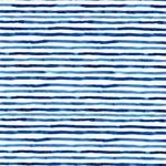 NEPTUNUS Jersey Streifen weiß blau